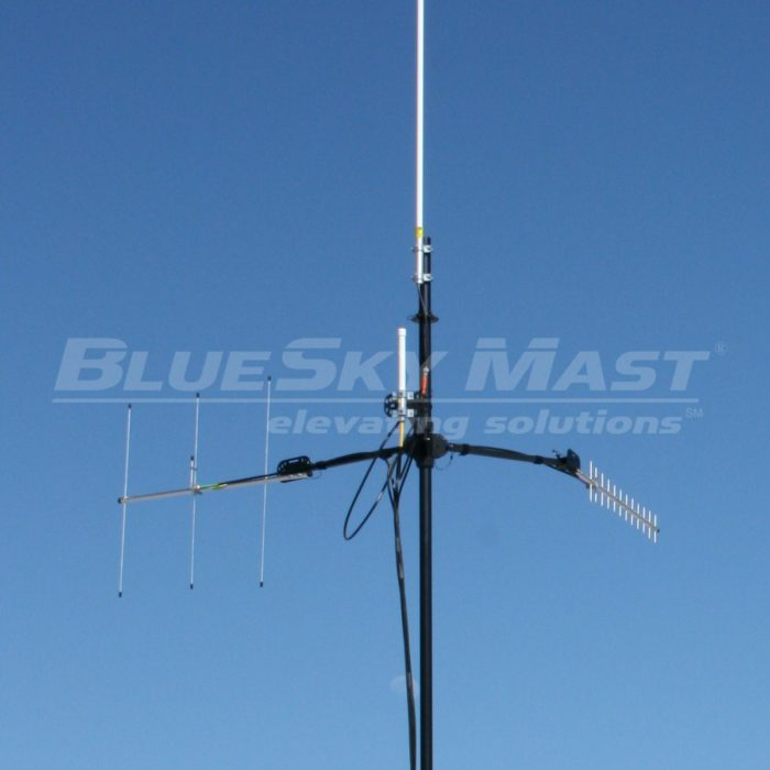 BlueSky Mast AL2 Lift Series, Portable, Military Mast System designed to support Tactical RF Communications