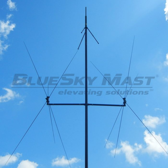 BlueSky Mast AL3 Lift Series, Portable, Military Mast System designed to support multiple devices and applications.